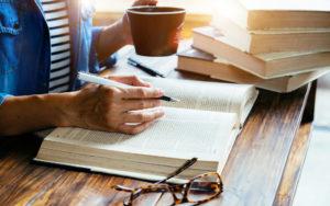 Header - Woman Writing